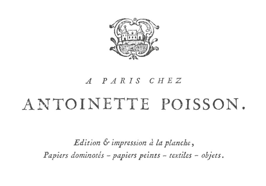 Paris chez antoinette poisson papiers dominot s for Antoinette poisson