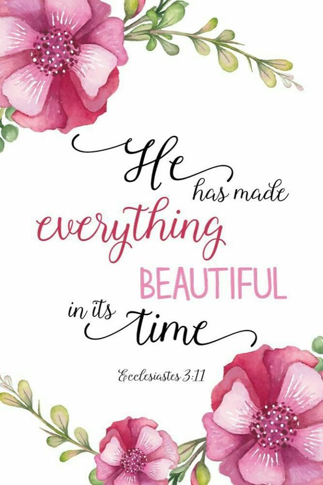 God has...