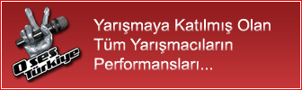 O Ses Trkiye Yarmac Performanslar
