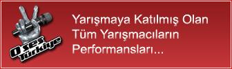 O Ses Türkiye Yarışmacı Performansları