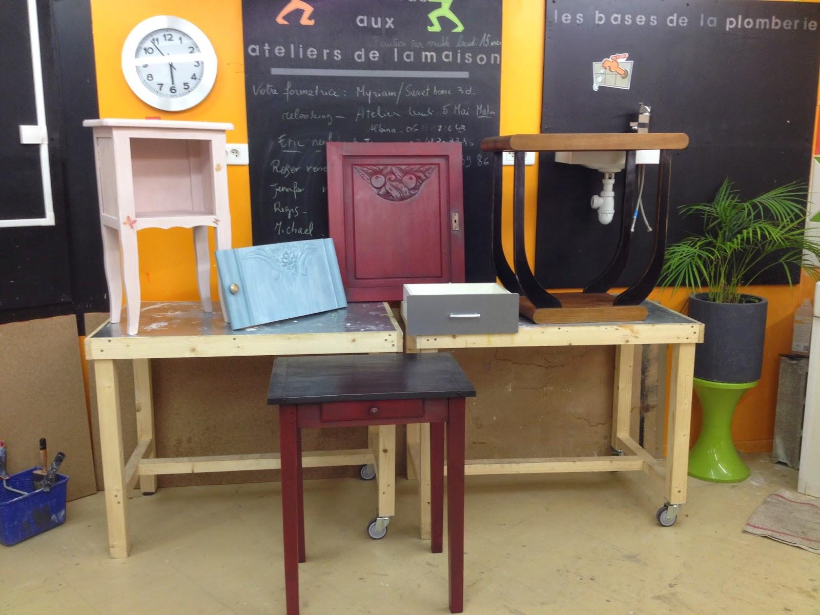cours de peinture effet effet rouille. Black Bedroom Furniture Sets. Home Design Ideas