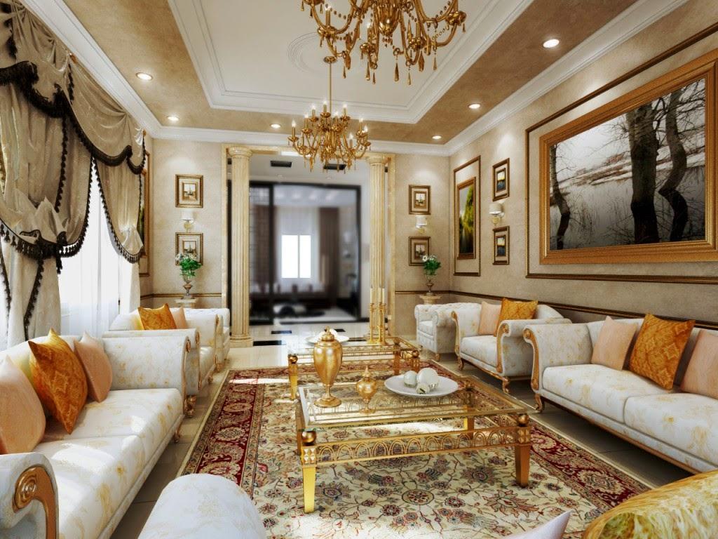 Desain interior ruang tamu klasik 1001 desain rumah minimalis terbaru 2018 - Gambar interior design ...