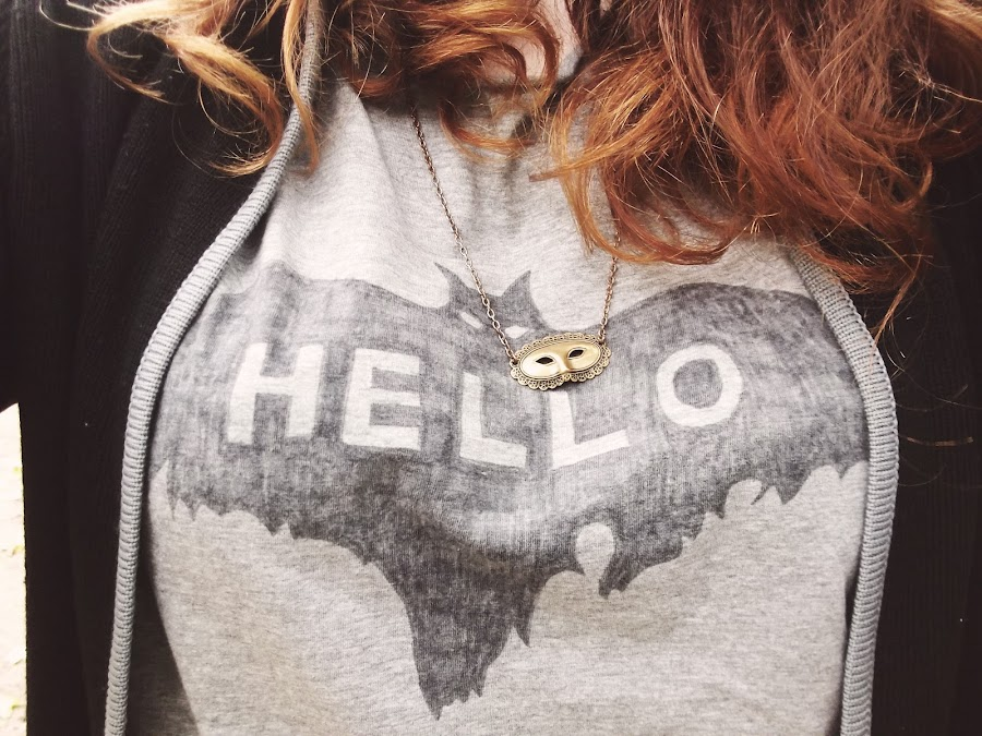 it's cohen - uk style blog: ootd, wiwt, liverpool, halloween, bat t shirt, alexa chung for madewell