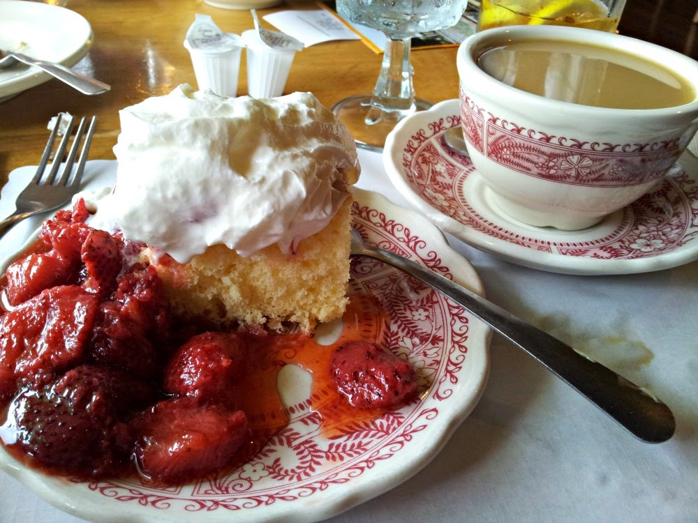 Strawberry  Shortcake from Dan'l Boone Inn