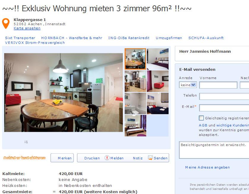 Augsburg Wohnung Mieten Innenstadt