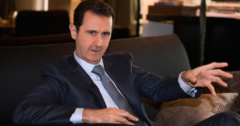 Assad wants to negotiate with Syrians, not with foreign...