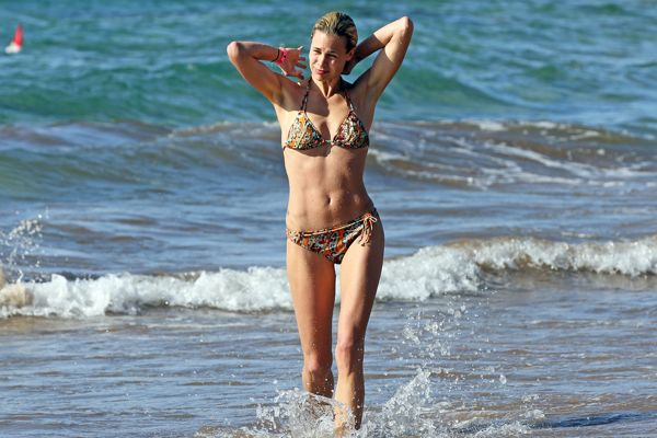 Bikini exotic in woman