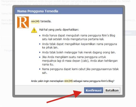 Cara Bikin Username yang Keren untuk Fans Page Facebook