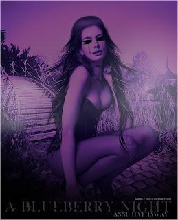 A Blueberry Night manipulação perfeita feita no photofiltre studio by acessorize
