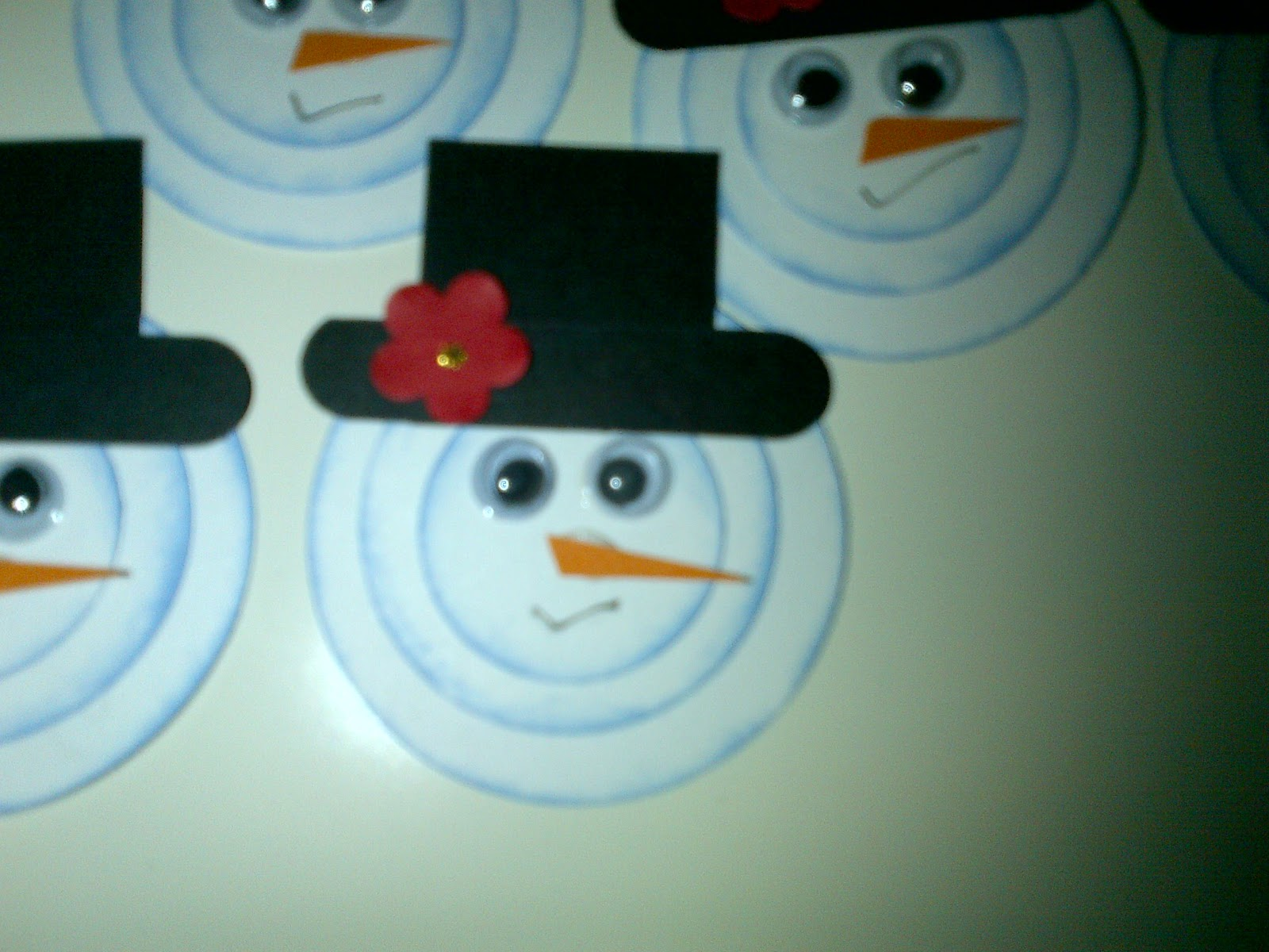 Melted Snowman Craft Why for my upcoming craft