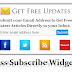 Add Unique Rss Subscribe Widget For Blogger