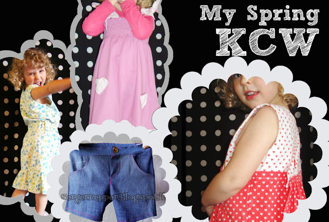 My Spring 2013 KCW - SergerPepper - free patterns