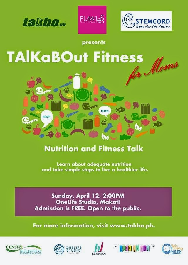 TAlKaBOut Fitness for Moms