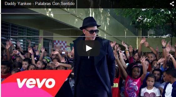 usica de Daddy Yankee - Palabras Con Sentido