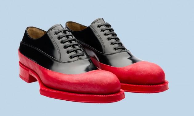 prada red bottom shoes