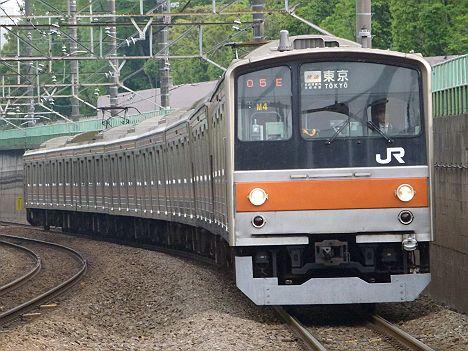 武蔵野線 快速 東京行き 205系5000番台(廃止)