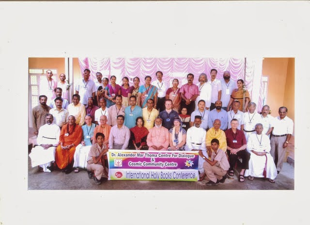 DELEGATES AND VOLUNTEERS OF FIFTH INTERNATIONAL INTERFAITH CONFERENCE ON HOLY BOOKS