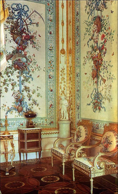 Henri Jacob  furniture, Pavlovsk Palace