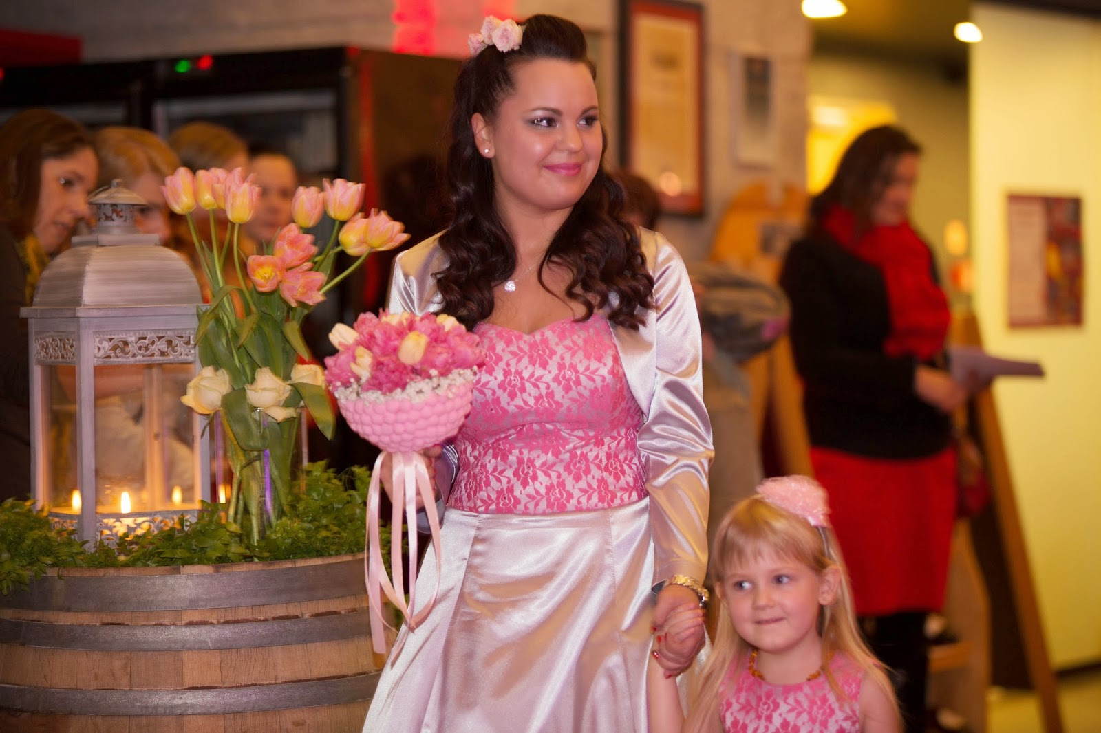 Esküvői ruhabemutató