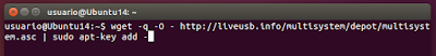 wget -q -O - http://liveusb.info/multisystem/depot/multisystem.asc | sudo apt-key add -