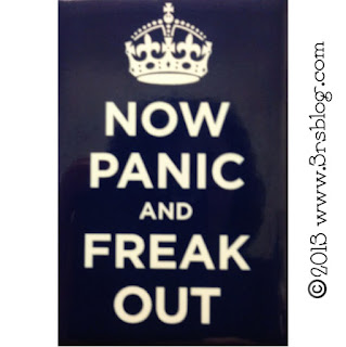 """Now Panic and Freak Out"" www.3rsblog.com"