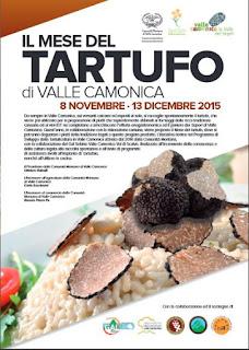 Il Mese del Tartufo dall'8 Novembre al 13 Dicembre Vallecamonica (BS)