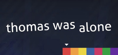 Thomas Was Alone Logo - We Know Gamers