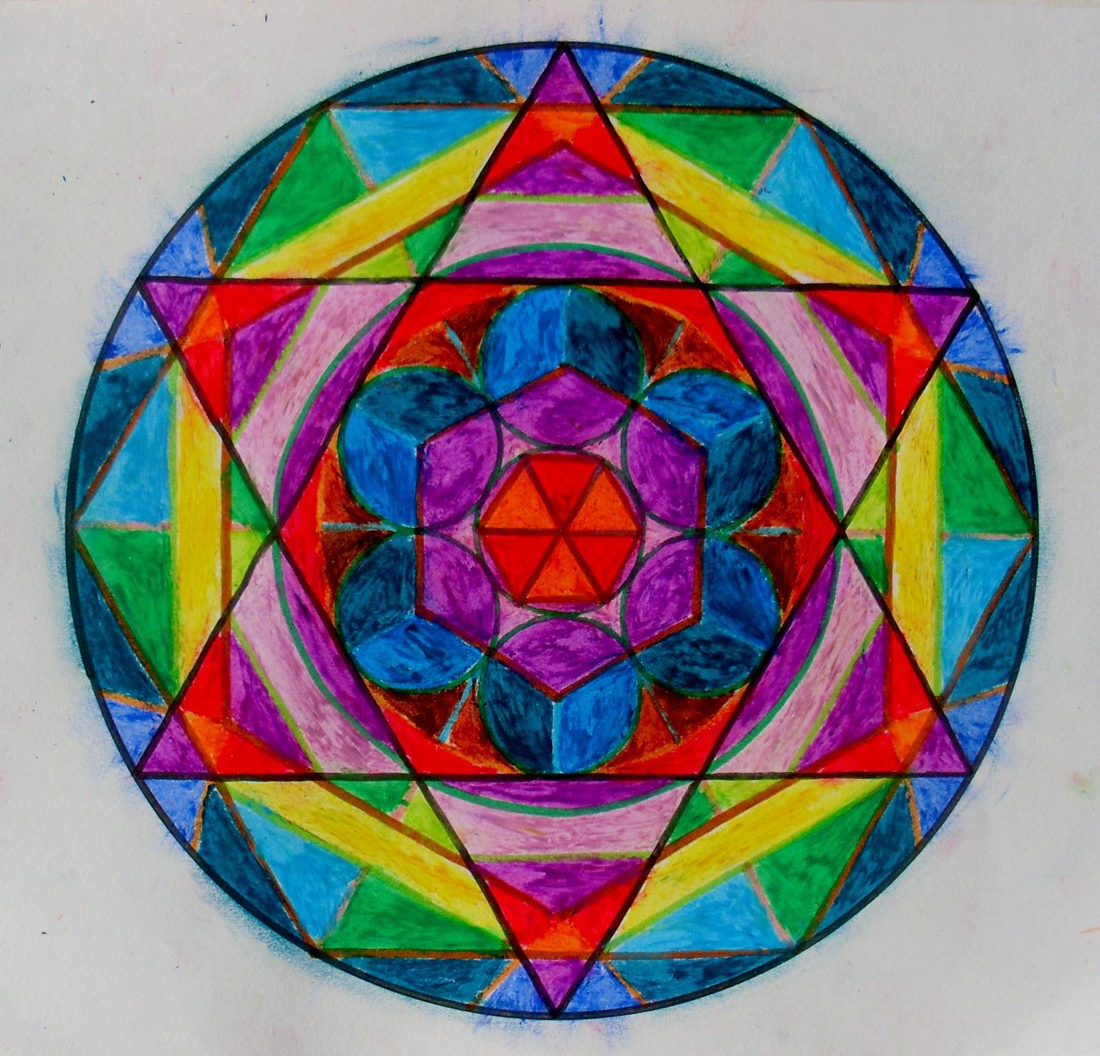 Mandalas de colores imagui - Colores para mandalas ...
