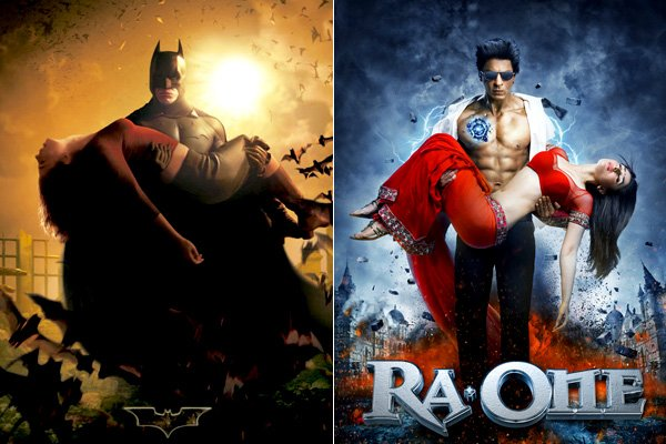 'Ra One' posters inspired from 'Tron: Legacy' and 'Batman Begins'