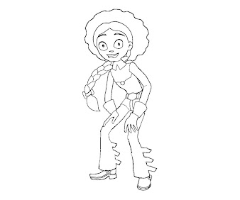 #14 Toy Story Coloring Page