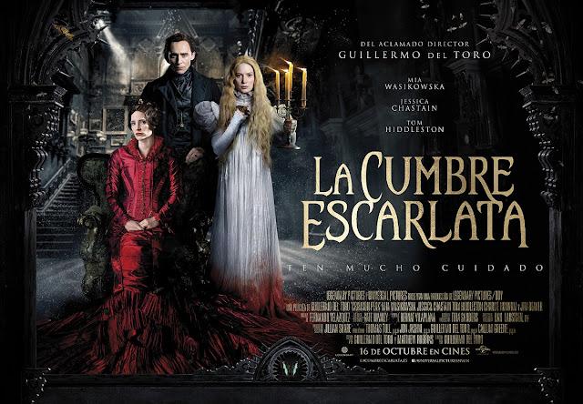 Kate Hawley, La Cumbre Escarlata, Cine, Cinefilos, Moda en el cine, Guillermo del Toro