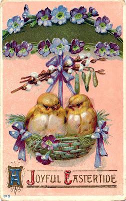Бесплатный Клип Easter Chicks