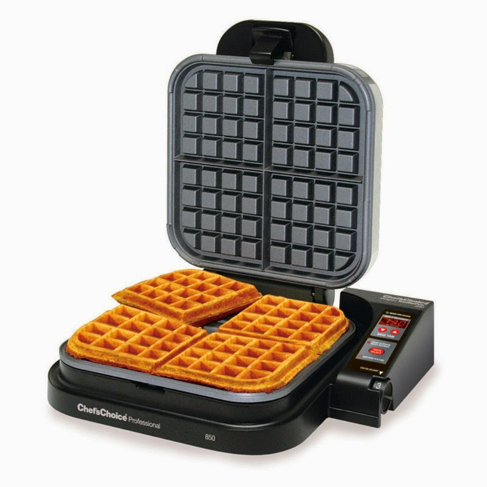 Chef's Choice M850 Taste-Texture Belgian Waffle Maker reviews