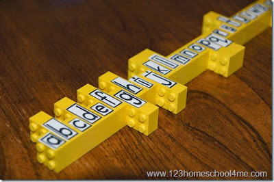 http://www.123homeschool4me.com/2014/10/spelling-practice-with-legos.html