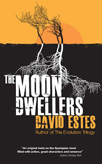 cover of the Moondwellers by David Estes