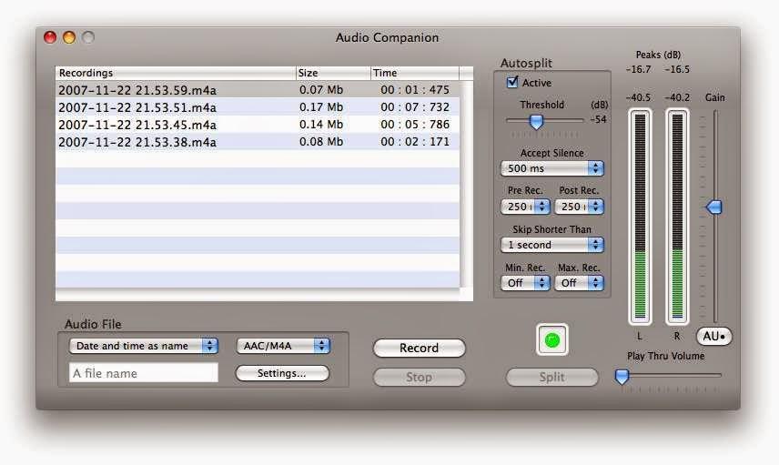 برنامج audio companion لتشغيل الملفات الصوتية اخر اصدار