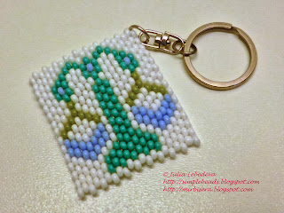 Brick stitch: Libra (Zodiac sign)