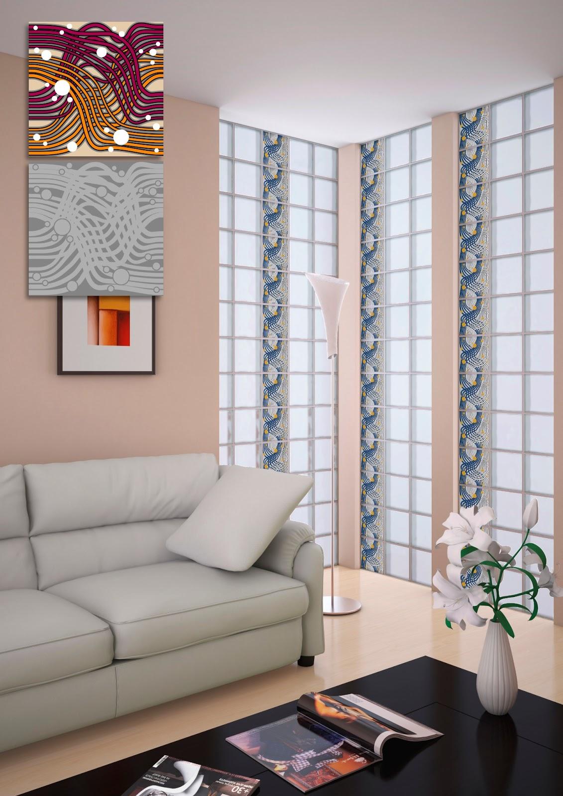 Bloques vidrio decorativos vidrio block decorados for Bloques decorativos