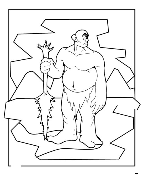 Free Cyclops Coloring Pages For Kids Gt Gt Disney Coloring Pages Cyclops Coloring Pages