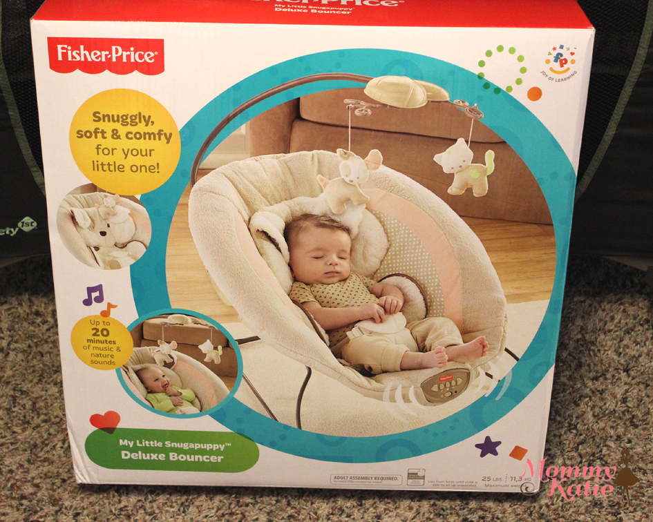 fisher price my snugapuppy deluxe bouncer