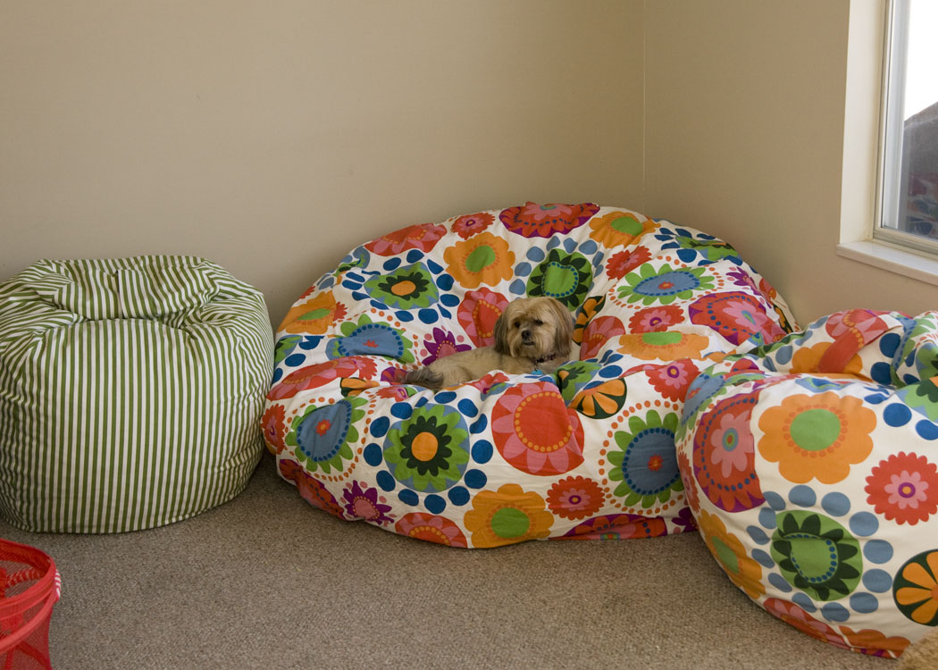 Bean Bag Chair Pattern Template http://www.fromthebluechair.com/2011/05/couple-more-small-projects.html