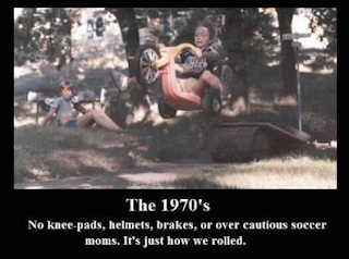big wheel fun - growing up in the 70s