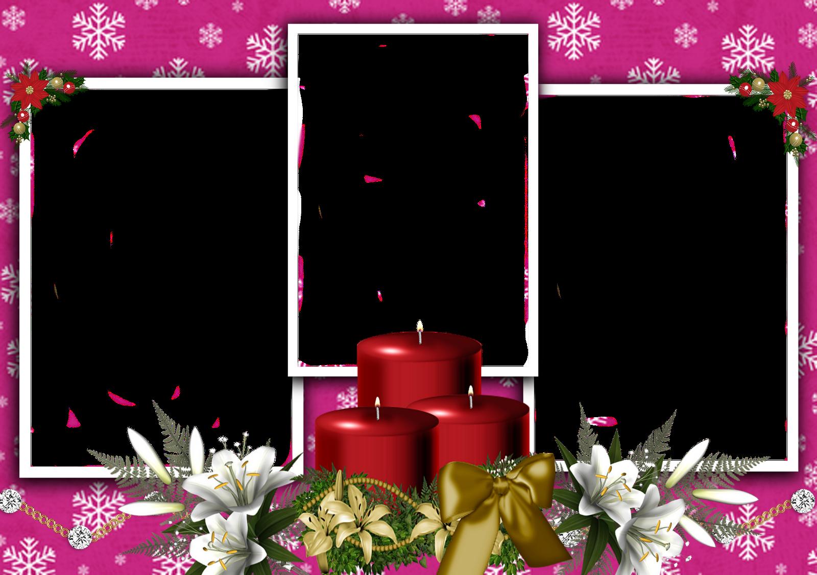 Molduras Para Fotos De Natal