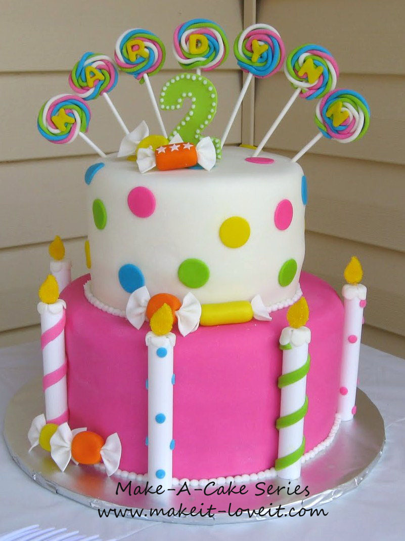 Sweets Birthday Cake Images : Lollipop Cake on Pinterest Lollipops, Candy Cakes and Cakes