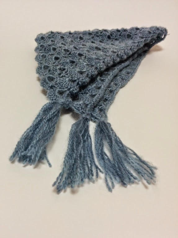 светло-синий мохеровый бактус