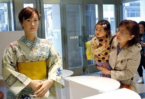 Robot Sambut Tetamu Kompleks Beli Belah Jepun