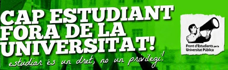 Front d'Estudiants per la Universitat Pública