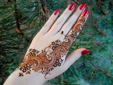 beautiful arabic mehndi collection