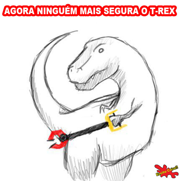 dinossauro, t-rex, mao mecanica, brinquedo, eeeita coisa