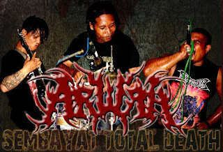 Arwah band Brutal Death Metal Gresik